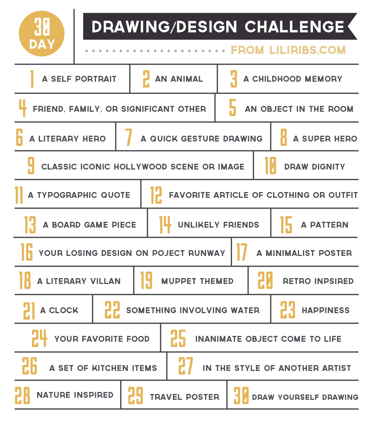 Character Design Drawing Challenge : Day drawing design challenge lili ribeira graphic